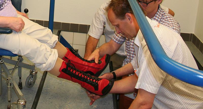 Orthopedisch schoentechnicus