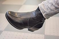 Orthopedische laarsjes zwart